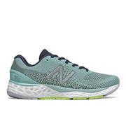 NEW BALANCE WOMEN`S FRESH FOAM 880V10 RUNNING SHOES- STORM BLUE/ECLIPSE/LIME GLO