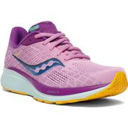 SAUCONY WOMEN'S GUIDE 14 RUNNING SHOES - FUTURE PINK