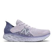 NEW BALANCE WOMEN`S FRESH FOAM 1080V10 RUNNING SHOES - THISTLE/BLUE/MOONDUST