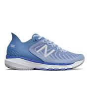 NEW BALANCE WOMEN`S FRESH FOAM 860V11 RUNNING SHOES - WIDE (D) - FROST/COBALT