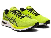 ASICS MEN`S GEL-CUMULUS 22 RUNNING SHOES - LIME ZEST/BLACK