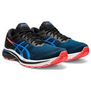 ASICS MEN`S GT-2000 9 RUNNING SHOES - BLACK/DIRECTOIRE BLUE