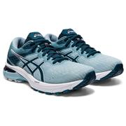 ASICS WOMEN`S GT-2000 9 RUNNING SHOES - LIGHT STEEL/MAGNETIC BLUE 401.LT.STEEL.BLUE