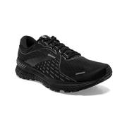BROOKS MEN`S ADRENALINE GTS 21 RUNNING SHOES - BLACK/BLACK/EBONY