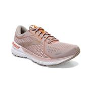 BROOKS WOMEN`S ADRENALINE GTS 21 RUNNING SHOES - HUSHED VIOLET/ALLOY/COPPER