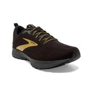 BROOKS MEN`S REVEL 4 RUNNING SHOES - VICTORY COLLECTION LIMITED EDITION - BLACK