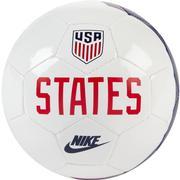 NIKE USA SKILLS MINI SOCCER BALL - WHITE/SPEED RED/LOYAL BLUE (2020) 100.WHITE.RED.BLUE