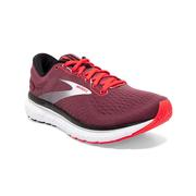 BROOKS WOMEN`S GLYCERIN 18 RUNNING SHOES - NOCTURNE/CORAL/WHITE
