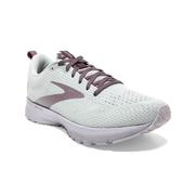 BROOKS WOMEN`S REVEL 4 RUNNING SHOES - SHINE LIMITED EDITION - OYSTER/LILAC/MOON