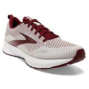 BROOKS WOMEN`S REVEL 4 RUNNING SHOES - BREAKTHROUGH COLLECTION LIMITED EDITION 166.WHITE.MAROON