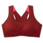 BROOKS WOMEN`S DARE CROSSBACK RUN SPORTS BRA - BEET