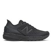 NEW BALANCE WOMEN`S FRESH FOAM 860V11 RUNNING SHOES - WIDE (D) - BLACK/BLACK