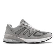 NEW BALANCE WOMEN`S 990V5 RUNNING SHOES - NARROW (2A) - GREY/CASTLEROCK