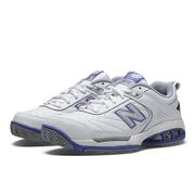 NEW BALANCE WOMEN`S 806V1 TENNIS SHOES - WHITE W.WHITE