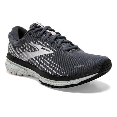 BROOKS WOMEN`S GHOST 13 RUNNING SHOES - OMBRE/BLACK/PRIMROSE