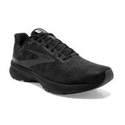 BROOKS MEN`S LAUNCH 8 RUNNING SHOES - BLACK/EBONY/GREY 051.BLACK.EBONY.GREY