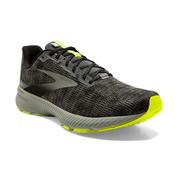 BROOKS MEN`S LAUNCH 8 RUNNING SHOES - URBAN/BLACK/NIGHTLIFE
