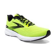 BROOKS MEN`S LAUNCH 8 RUNNING SHOES - NIGHTLIFE/BLACK/WHITE