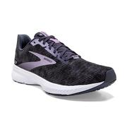 BROOKS WOMEN`S LAUNCH 8 RUNNING SHOES - BLACK/OMBRE/IRIS 087.BLACK.OMBRE.IRIS