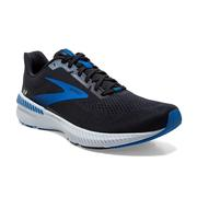 BROOKS MEN`S LAUNCH GTS 8 RUNNING SHOES - BLACK/GREY/BLUE