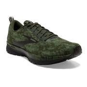 BROOKS MEN`S REVEL 4 RUNNING SHOES - ABSTRACT PACK - BRONZE GREEN/BLACK/GREEN