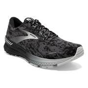 BROOKS MEN`S ADRENALINE GTS 21 RUNNING SHOES - ABSTRACT PACK - MAGNET/BLACK/GREY