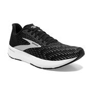 BROOKS WOMEN`S HYPERION TEMPO RUNNING SHOES - BLACK/SILVER/WHITE