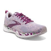 BROOKS WOMEN`S REVEL 4 RUNNING SHOES - ABSTRACT PACK - WHITE/WOOD VIOLET/IRIS