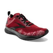 BROOKS MEN`S LEVITATE 4 RUNNING SHOES - RED/GREY/BLACK