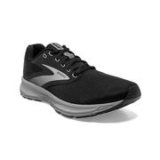BROOKS MEN`S RANGE RUNNING SHOES - BLACK/EBONY