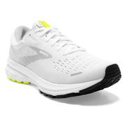 BROOKS MEN`S GHOST 13 RUNNING SHOES - WHITE/NIGHTLIFE