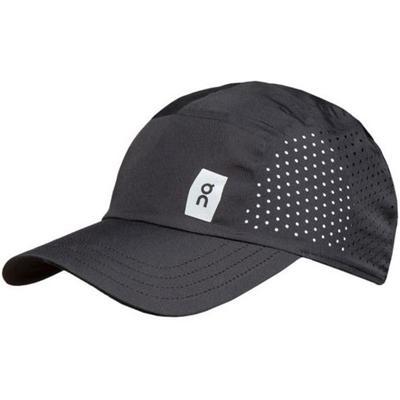 ON RUNNING UNISEX LIGHTWEIGHT CAP - RUNNING HAT - BLACK