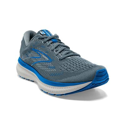 BROOKS MEN`S GLYCERIN 19 RUNNING SHOES - QUARRY/GREY/DARK BLUE