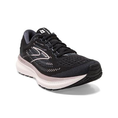 BROOKS WOMEN`S GLYCERIN 19 RUNNING SHOES - BLACK/OMBRE/METALLIC