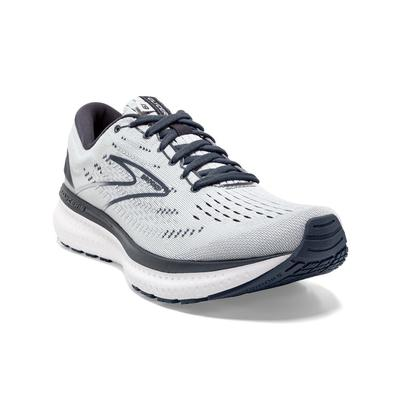 BROOKS WOMEN`S GLYCERIN 19 RUNNING SHOES - GREY/OMBRE/WHITE