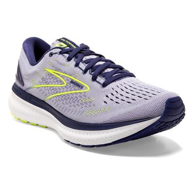BROOKS WOMEN`S GLYCERIN 19 RUNNING SHOES - LAVENDER/BLUE/NIGHTLIFE