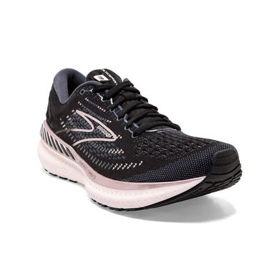 BROOKS WOMEN`S GLYCERIN GTS 19 RUNNING SHOES - BLACK/OMBRE/METALLIC
