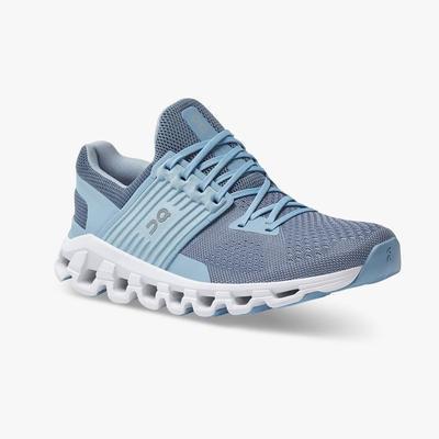 ON RUNNING WOMEN`S CLOUDSWIFT 2.0 RUNNING SHOES - LAKE/SKY