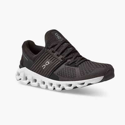 ON RUNNING WOMEN`S CLOUDSWIFT 2.0 RUNNING SHOES - BLACK/ROCK