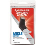 MUELLER ANKLE SUPPORT SLEEVE - BLACK BLACK