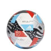 ADIDAS MLS CLUB NATIVO 21 SOCCER BALL - WHITE/BLACK/RED/BLUE