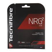 TECNIFIBRE NRG2 16 GAUGE (1.32MM) TENNIS STRING - BLACK