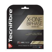 TECHNIFIBRE X-ONE BIPHASE 16 GAUGE (1.30MM) TENNIS STRING - NATURAL