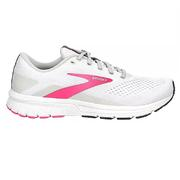 BROOKS WOMEN'S SIGNAL 3 RUNNING SHOES - WHITE/PINK/OMBRE BLUE 122.WHITE.PINK.BLUE
