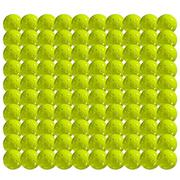 FRANKLIN X-40 OUTDOOR PICKLEBALLS - 100 BALLS - NEON YELLOW  - USAPA APPROVED NEON.YELLOW
