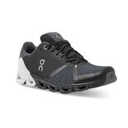 ON RUNNING MEN`S CLOUDFLYER 2.0 RUNNING SHOES - WIDE (2E) - BLACK/WHITE BLACK.WHITE