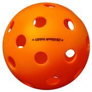 ONIX FUSE INDOOR PICKLEBALL - 3 BALLS - ORANGE - USAPA APPROVED ORANGE