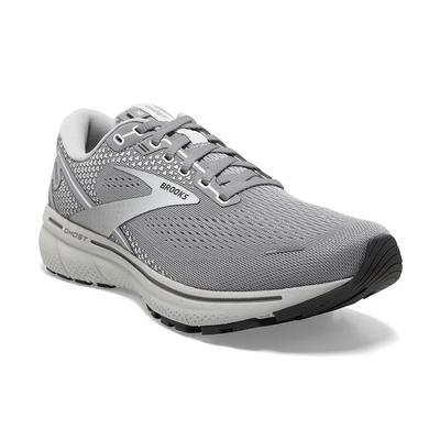 BROOKS WOMEN`S GHOST 14 RUNNING SHOES - ALLOY/PRIMER GREY/OYSTER