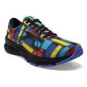 BROOKS MEN`S ADRENALINE GTS 21 RUNNING SHOES - VICTORY COLLECTION - BLACK/RED/BLUE