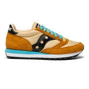 SAUCONY UNISEX JAZZ 81 CASUAL SHOES - RUST/BROWN